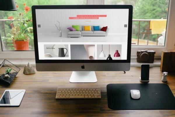 Mẫu website nội thất, decor