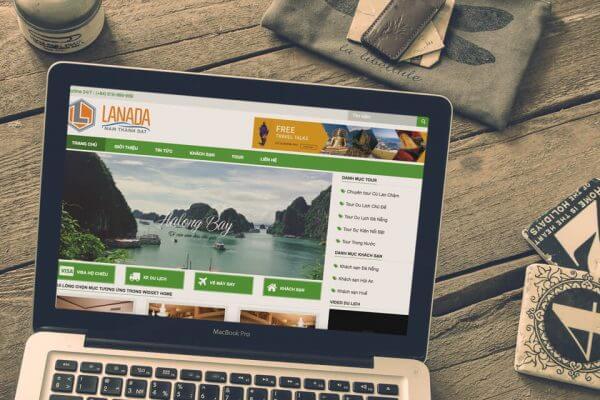 Mẫu webiste du lịch, tour du lịch 2017