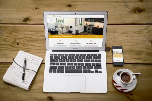 Mẫu web Giới thiệu doanh nghiệp