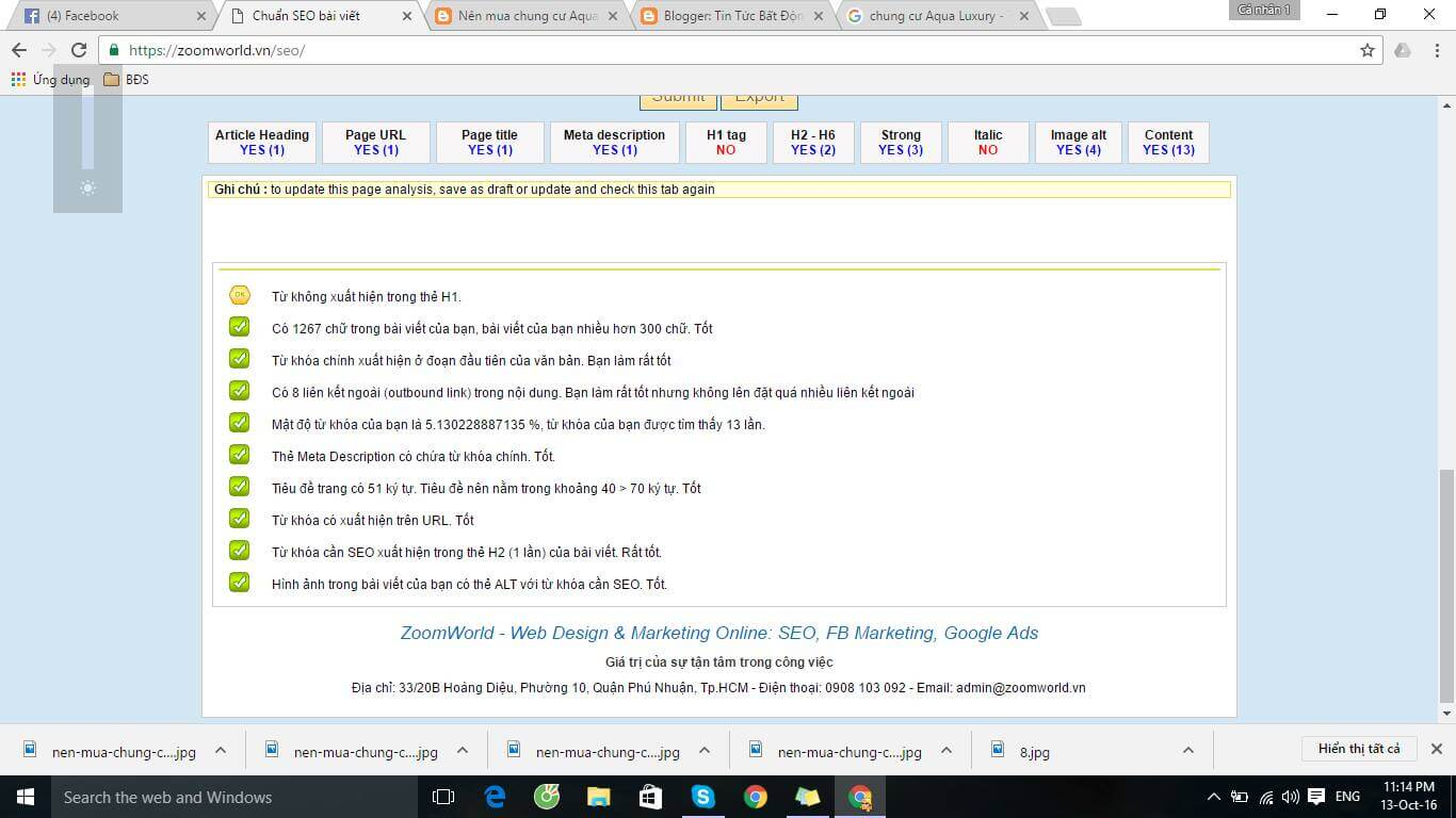 hướng dẫn cách viết bài chuẩn seo