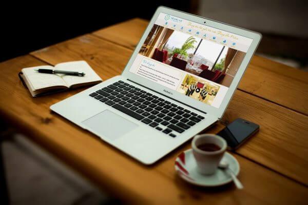 Mẫu web nhà hàng, giới thiệu doanh nghiệp