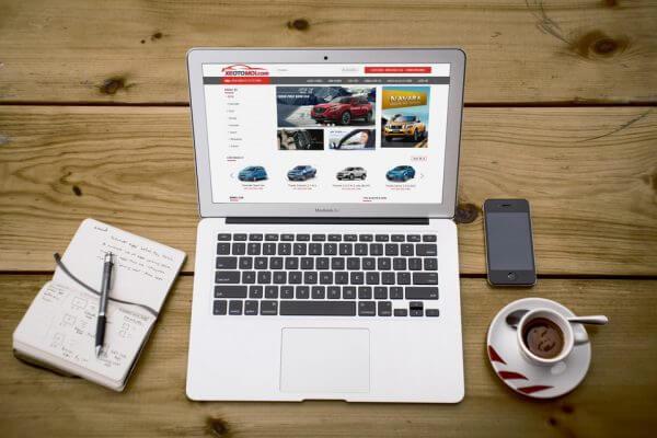 Mẫu giao diện website ô tô, xe hơi
