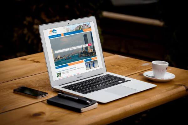 Mẫu giao diện website đăng tin bất động sản